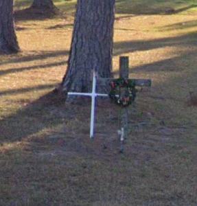 Chad Range roadside memorial in Myrtle Beach, SC